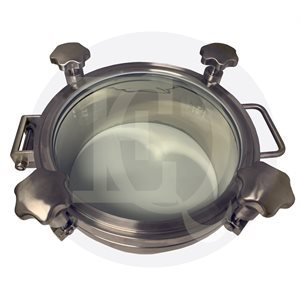 Manhole with Glass Cover (Manway)