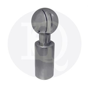 Rotary Threaded Cleaning Ball 180 Degree